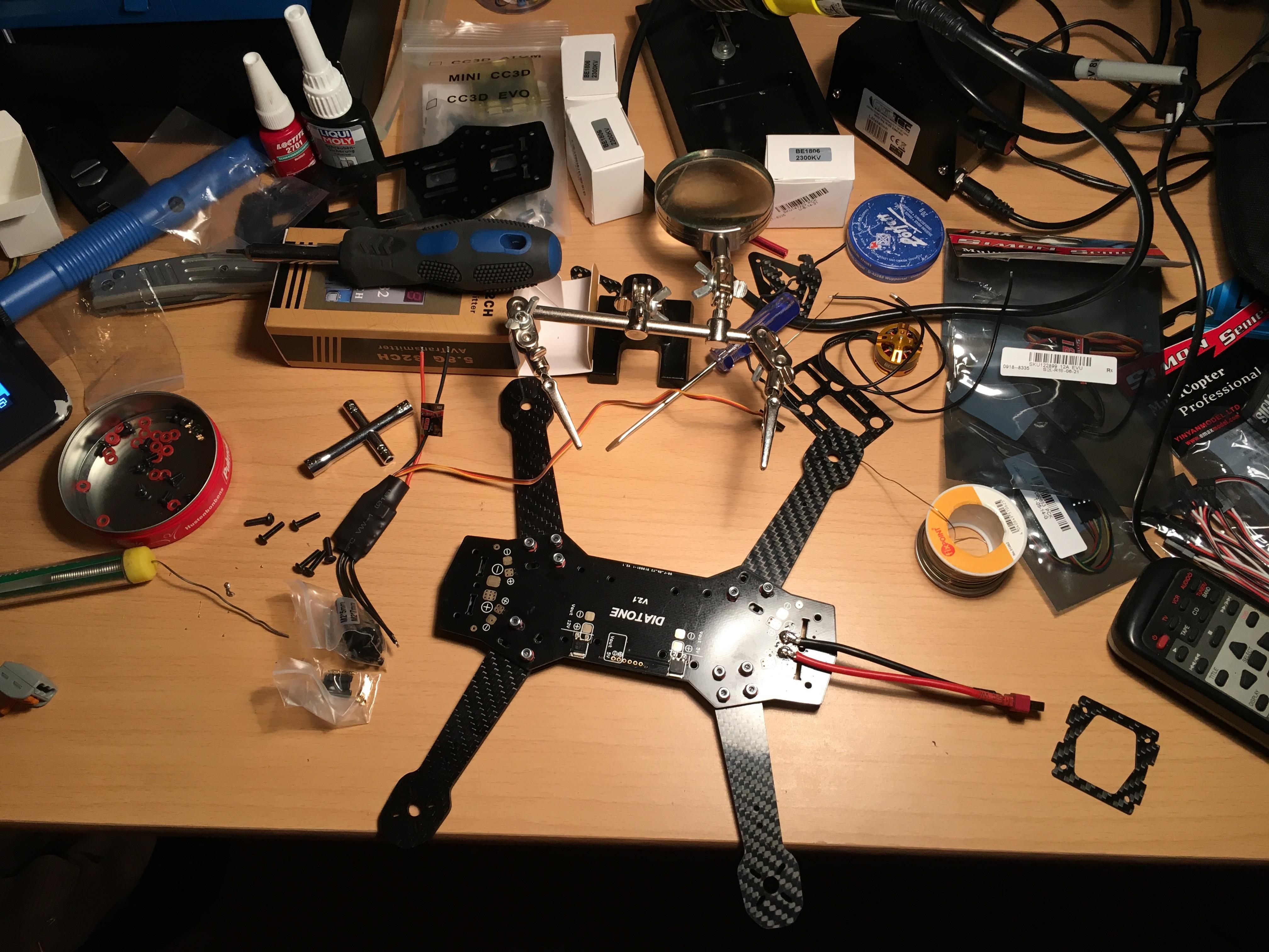 ZMR250 – FPV Quadcopter Bauen – Einstieg – De-Fra Projects